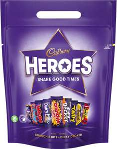 2x Heroes / Celebrations / Roses 400G pouches £2.99 Mix n Match Lidl NI