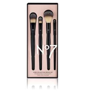 Save 1/3 on No7 Brushes - One day only - No7 12 days of Beauty Treats @ Boots