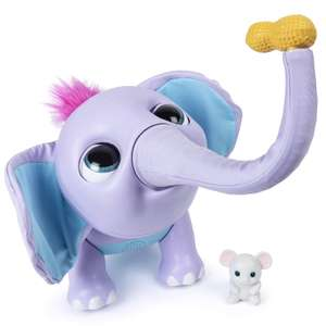 Juno 6047249 Wildluvs, Juno Interactive Baby Elephant with Moving Trunk and Over 150 Sounds and Movements £40 at Amazon