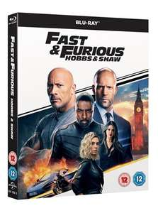 Fast & Furious Presents: Hobbs & Shaw for £6.99 / Blu-ray for £7.99 one day only at HMV