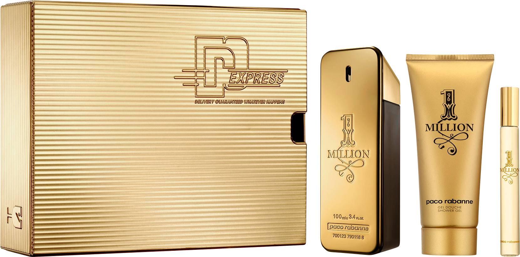 Paco Rabanne 1 Million Eau de Toilette 100ml Gift Set £45.33 @ Boots Shop