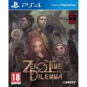 Zero Time Dilemma (PS4) £9.89 @ 365games with code