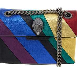 KURT GEIGER Multicoloured Leather Cross Body Bag £59.99 free click and collect @ Tk Maxx