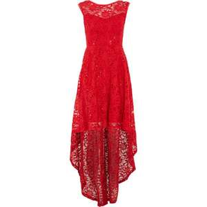 STELLA MORGAN Red Lace Dress £19.99 +£1.99 click and collect @ Tk Maxx