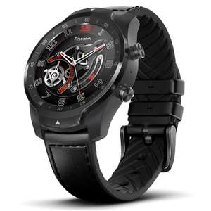 Ticwatch PRO Smartwatch Wear OS by Google 1.4 Inch OLED/LED Double Screens Google Pay IP68 Built-in GPS Mobvoi Black - £146.58 @ Geekbuying