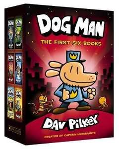 Dog Man 1-6 hardback boxed set - £24.64 @ Book Depository