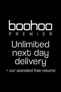 BOOHOO Unlimited next day delivery for 1 year