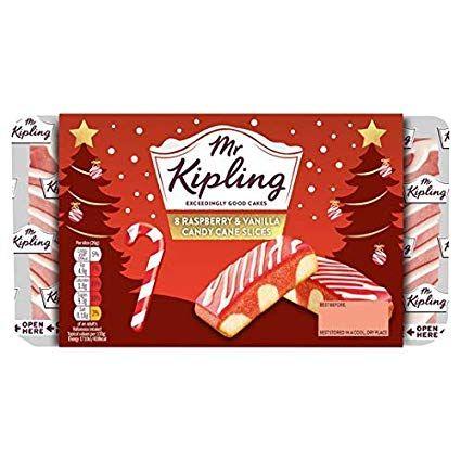 Mr Kipling Candy Cane Slices 8 Pack 69p at Herons Hull