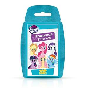 Top Trumps 002295 My Little Pony Card Game £2.69 Prime / £7.18 Non Prime Sold by Champion Toys and Fulfilled by Amazon