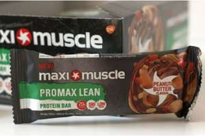 Maxi-muscle Peanut Butter Protein Bar 69p at Home Bargains in Hawick