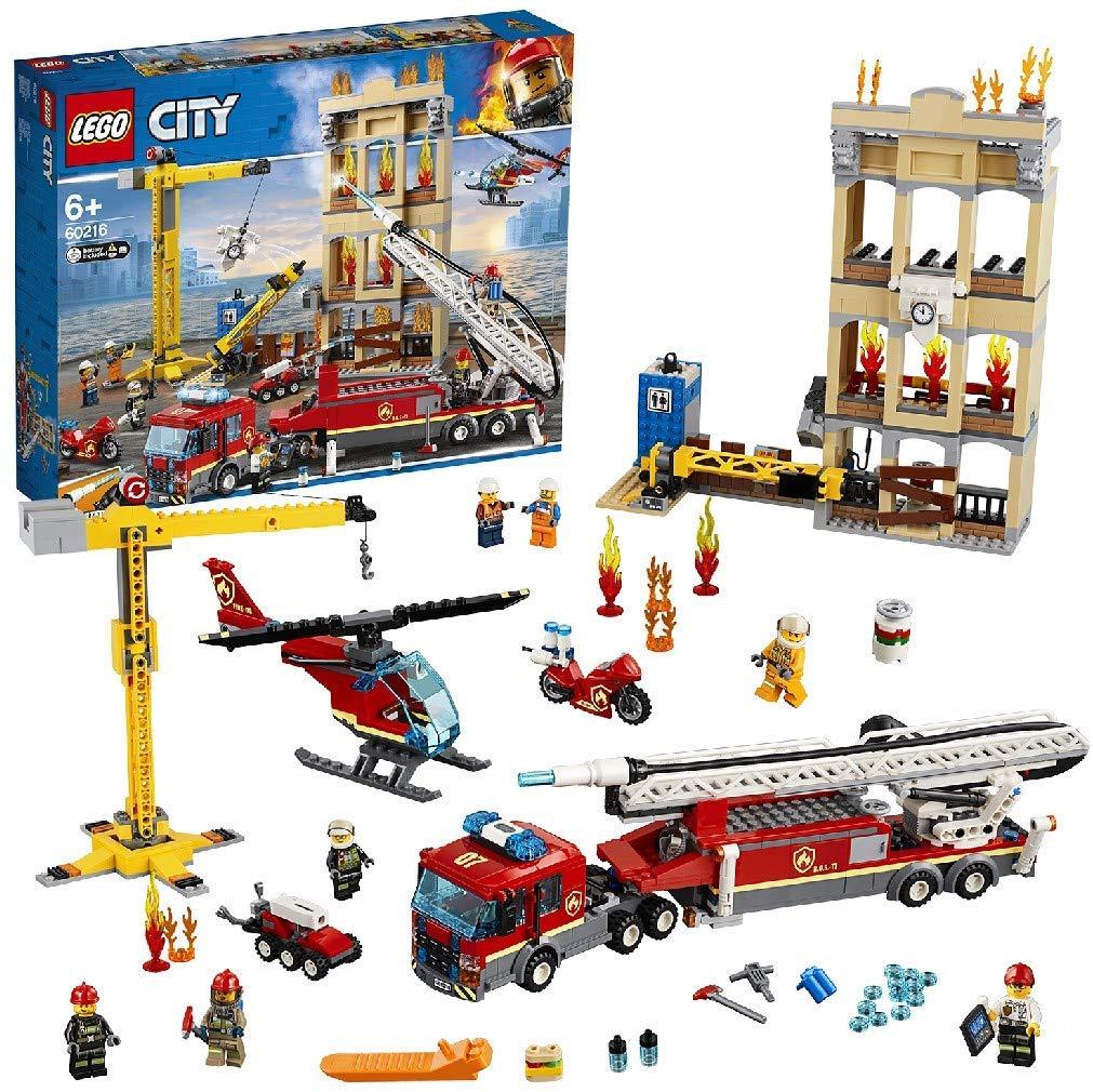 LEGO 60216 City Fire Downtown Fire Brigade £50 @ Amazon