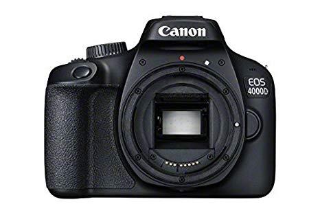 Canon EOS 4000D DSLR Camera Body Used - Acceptable £161.23 @ Amazon warehouse