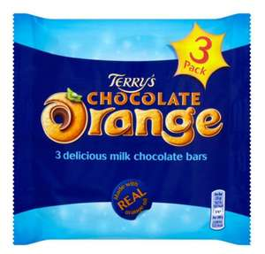Terry's Chocolate Orange Bars 3 pack now £1 in poundstrecher