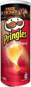 Pringles various flavours 130g in Heron only £1