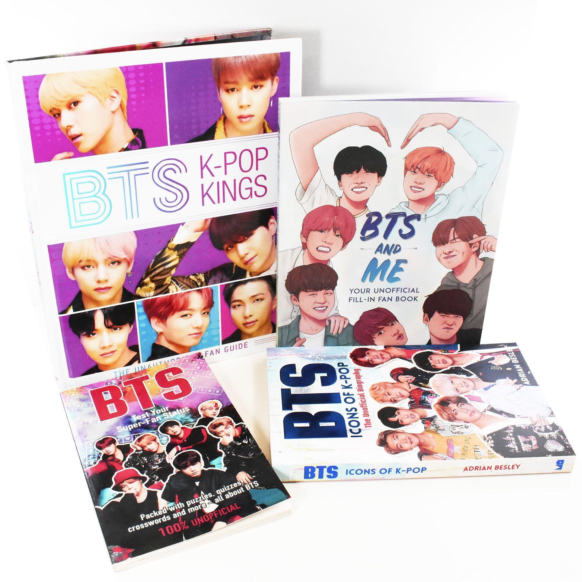 BTS Kings & Icons of K-Pop 4 Books Set £8.50 @ Books2Door (Free P&P Using Code)