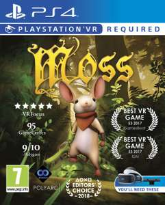 Moss (PS4/PSVR) £11.95 Delivered @ The Game Collection