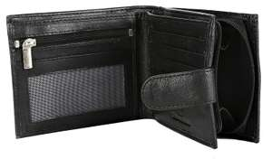 RFID blocking men's leather wallet with gift box. £5.05 Prime / +£4.49 non Prime Sold by Discount Leather Mart and Fulfilled by Amazon
