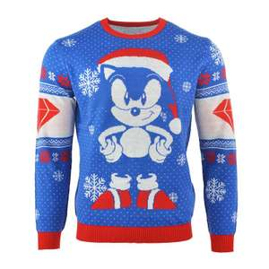 Official Sonic the Hedgehog Sonic Gem Christmas jumper for £14.50 delivered @ SEGA Shop