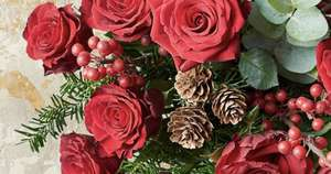 £5 off when you spend over £35 at Waitrose florist