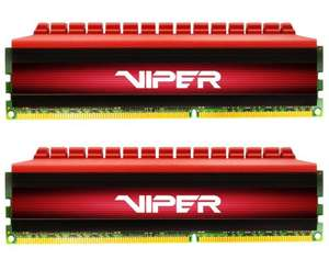 Patriot Viper 4 16GB (2x 8GB) 3200MHz DDR4 RAM £52.92 delivered at Ebuyer