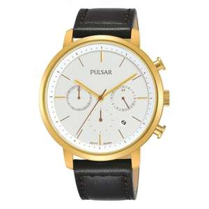 Pulsar PT3938X1 Gent's Gold Tone Dress Wristwatch £29.00 @ HS Johnson