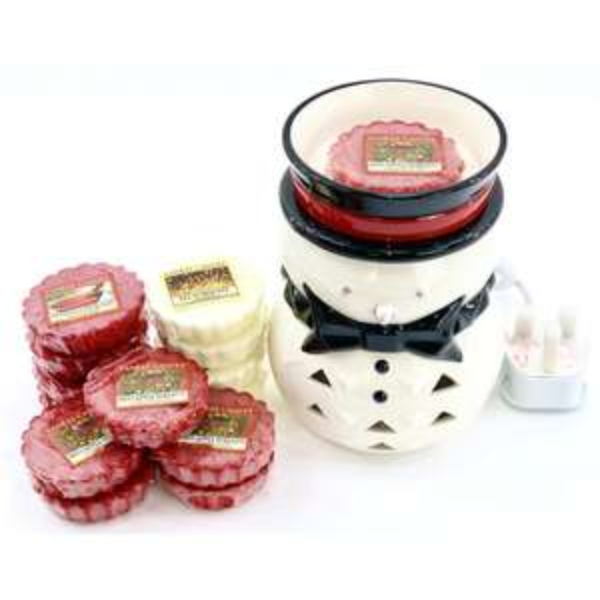 Official Yankee Electric Snowman Penguin Wax Melt Warmer+12 Festive Tarts £15.00 @ Yankee (Free P&P)
