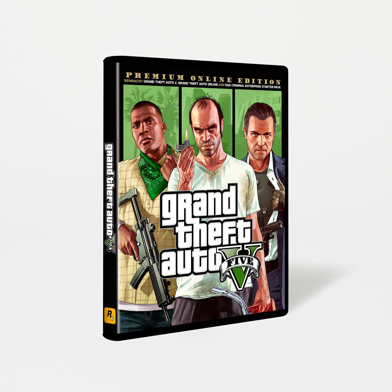 Grand Theft Auto V Premium Online Edition (PC) £8.24 @ RockStar Games