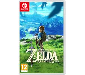 The Legend of Zelda: Breath of the Wild + 6 months spotify £43.99 @ Currys PC World