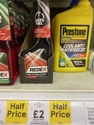 Redex diesel and petrol cars cleaning system £2 instore @ Tesco