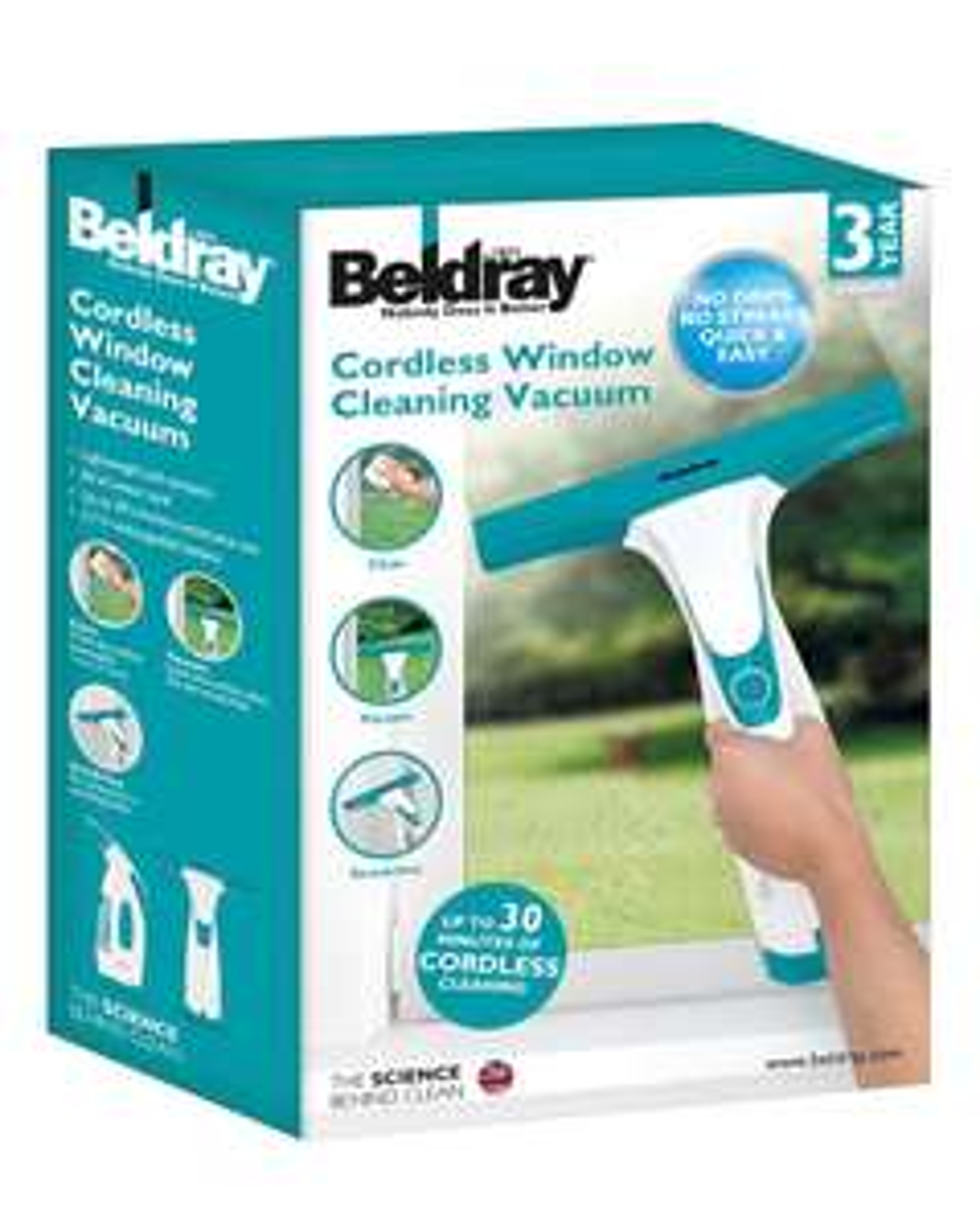 Beldray Window Vacuum Cleaner - £17.99 @ Home Essentials (+£3.50 Postage)
