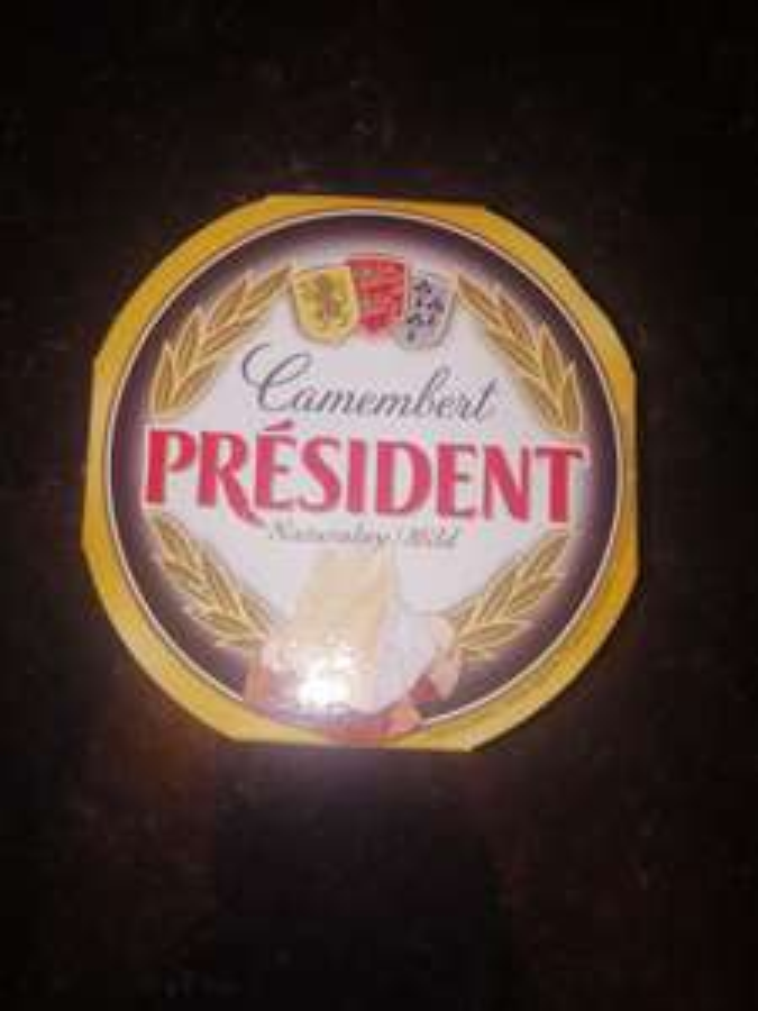 President camebert 120g 50p in poundland huddersfield