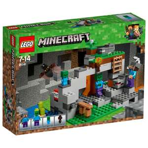 LEGO 21141 Minecraft The Zombie Cave Adventures Building Set - £13 @ Sainsbury's