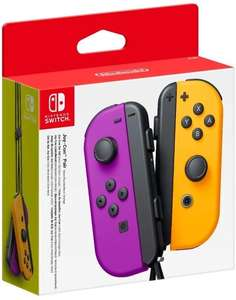 Nintendo switch Purple/Neon Joycon pair - £69.99 (Possibly £43.98 With Code for New Users) @ Very - Free Collection