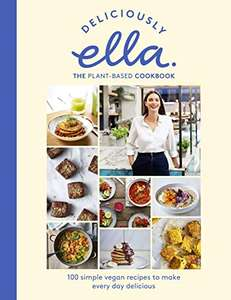 Deliciously Ella The Plant-Based Cookbook: The fastest selling vegan cookbook of all time Kindle Edition - 99p @ Amazon