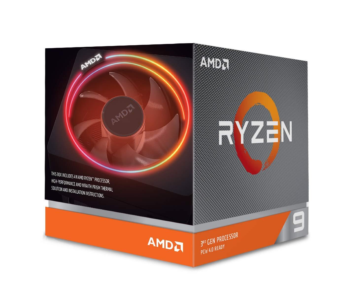 AMD Ryzen 9 3900X Processor (12C/24T, 70MB Cache, 4.6 GHz Max Boost) £450 @ Amazon