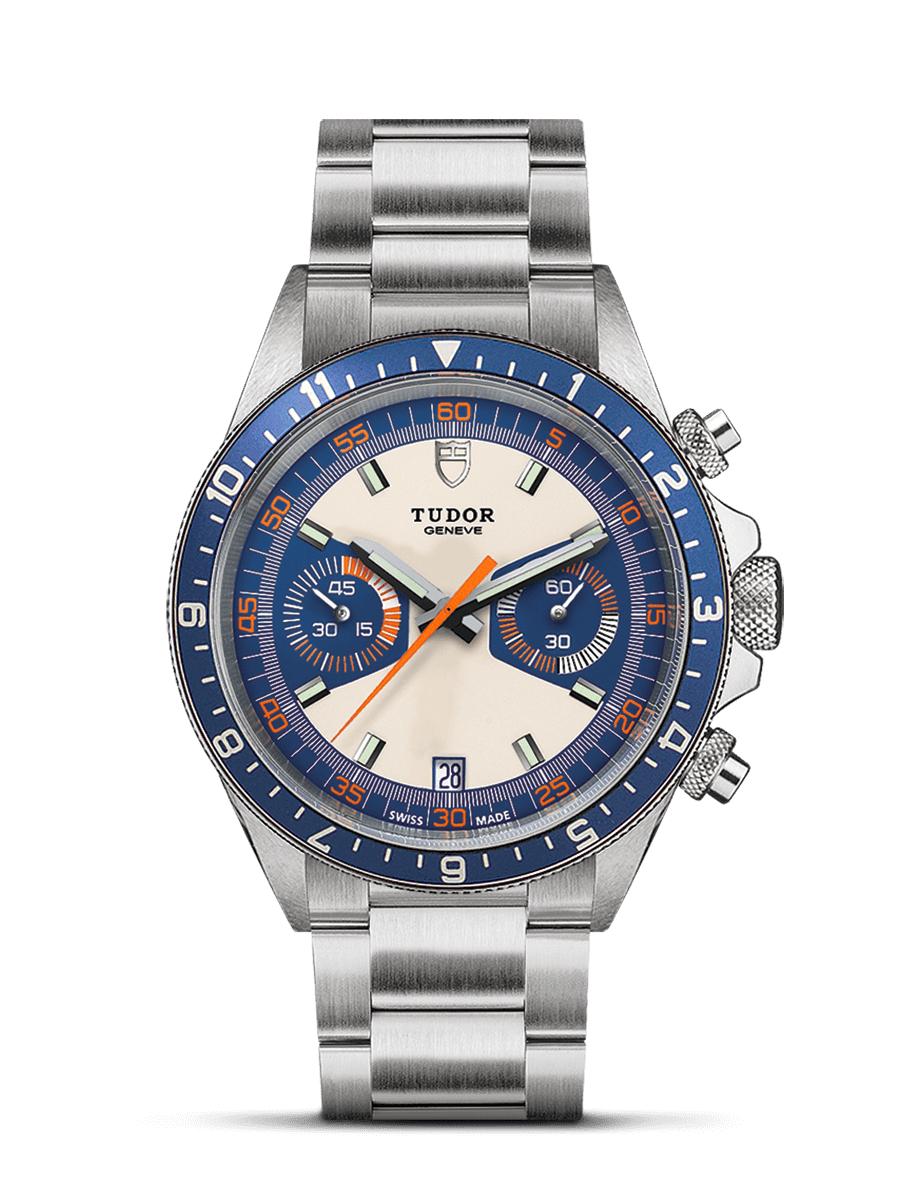 Tudor Heritage Chronograph blue on steel watch - £2,560 Instore @ Ernest Jones (Brent Cross, London)