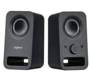 Logitech Z150 980-000814 2.0 Wired Active Speakers (Black) Like New £4.26 (+ £4.49 Non-Prime) @ Amazon Warehouse