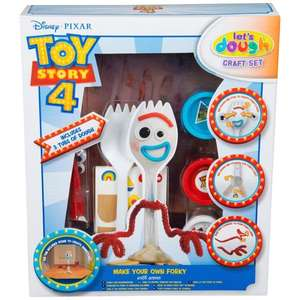 Toy Story 4 Make-Your-Own Forky Craft Set - £4.99 @ B&M (Chorley)