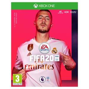 Fifa 20 on Xbox or PS4 - £40 at Tesco