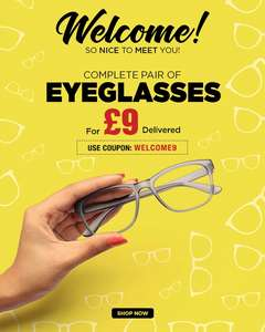 £9 spectacles delivered from Goggles4U