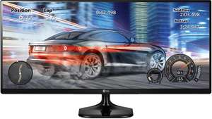 LG UltraWide 25UM58 25-inch IPS Monitor £129.99 at Amazon