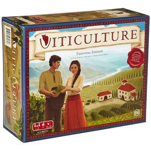 Viticulture Essential Edition Board Game £35.09 @ 365games with code