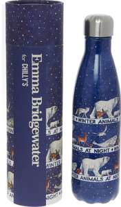 The Chilly's Bottle - Blue Winter Animals Insulated Bottle 500ml - £9.99 @ TK Maxx (+£1.99 Click&Collect)