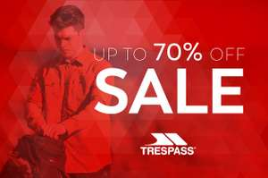 Trespass Up To 70% Off Sale + Boosted Cashback