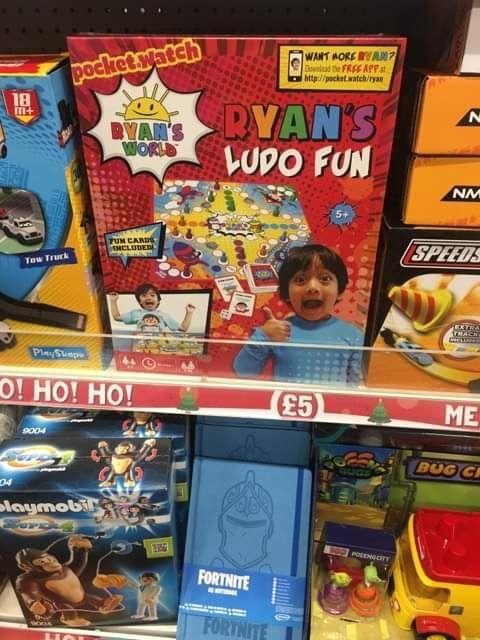Ryan's ludo Fun - £5 Instore @ Poundland (Bescot)