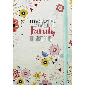 Family and baby memories journals at The Works for £4 (instore and online)