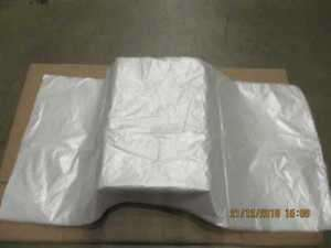 Clear Wheelie Bin sacks 584 x 1168 x 1321 mm Free Delivery @ eBay / Viking £3.99