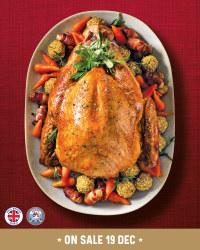British Fresh Whole Turkey - Large £2.89/kg @ Aldi
