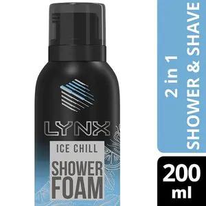 Lynx Foam Ice Chill Shower Gel 200ml 99p Superdrug