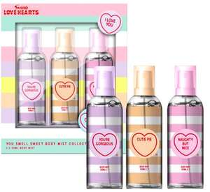 Love Hearts You Smell Sweet Body Mist Trio Gift Set - £2.50 + £1.50 Order & Collect at Boots